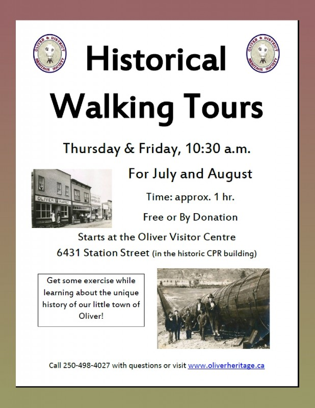 Historic Walking Tours