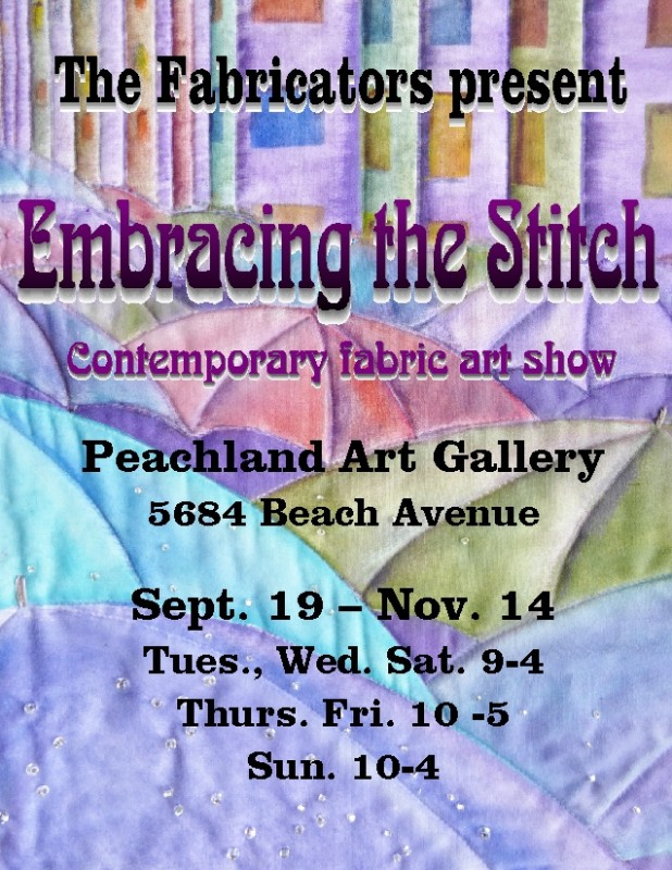 Embracing the Stitch Poster